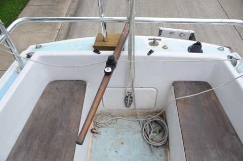 Alacrity 19 twin keeler, 1986 sailboat