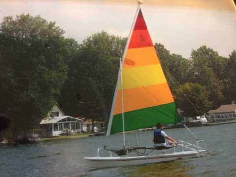 Aqua Cat 12.5 by American Sail, 2006 sailboat