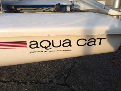 Aqua Cat 12.5 by American Sail, 2006 sailboat