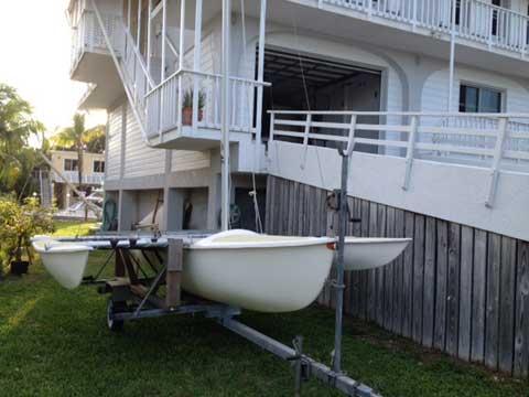 Aquadyne Sailbird Trimaran sailboat