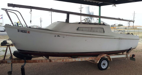 Aquarius 21, 1971 sailboat