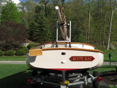 Arey's Pond Catboat, 2002 sailboat