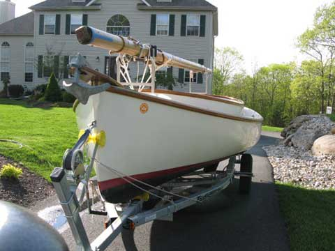 Arey's Pond Catboat, 2002 sailboat