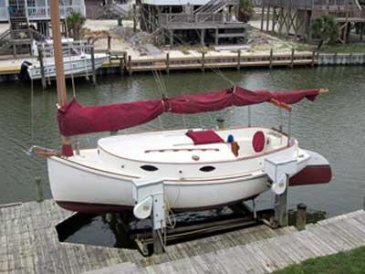 Atlantic City Catboat, 24', 1982 sailboat