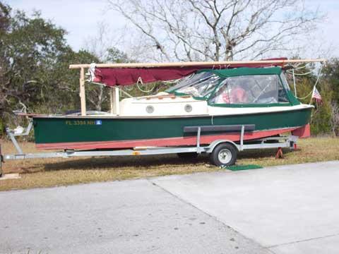 Bay Hen 21', 1998 sailboat