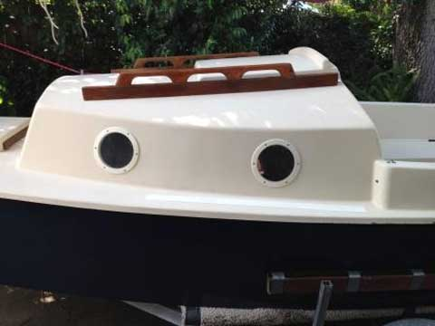 Nimble Bay Hen 21', 1984 sailboat