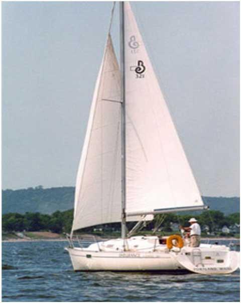 Beneteau 321, 1998 sailboat