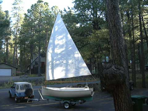 Blackwatch 14 Catboat, 1980 sailboat