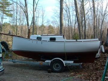 Blackwatch Cat Boat, 18/24, 1981 sailboat