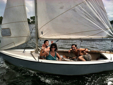 Blue Jay Sailing Dinghy 197?,  sailboat