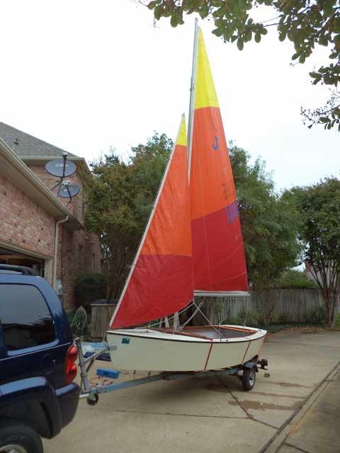 Blue Jay Classic 14ft, 1970 sailboat