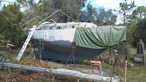 Blue Water Sail Boat, 30' Cutter-rig, 1979 sailboat