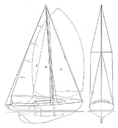 cape cod marlin 23  1959  weymouth  massachusetts
