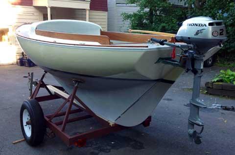 Cape Cod Bullseye 1965 Syracuse New York Sailboat For