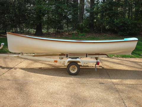 Cape Dory Whitehall Day Sailor/Dingy, 14 ft , 1970, Richmond