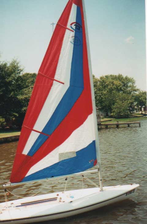 Capri 13, 1988 sailboat