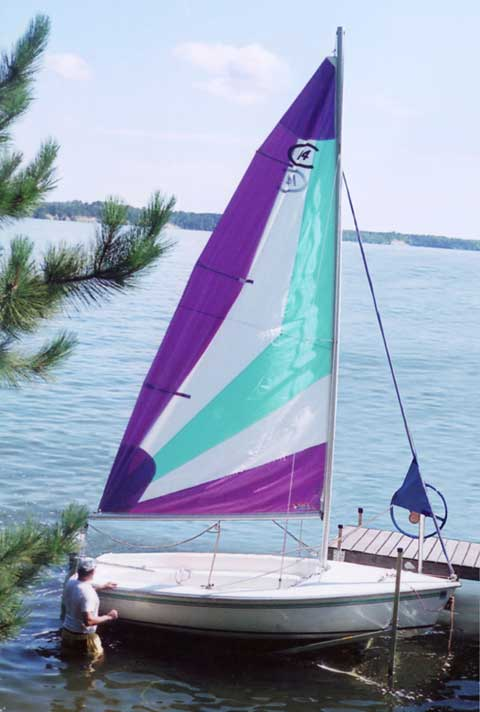 Best Boat Covers >> Catalina Capri 14.2, 1999, Whitefish Lake near Pequot Lakes, Minnesota, sailboat for sale from ...