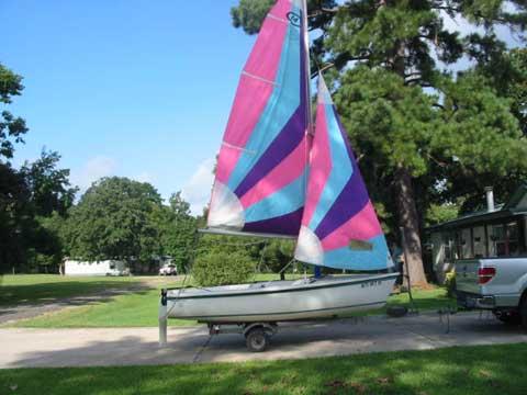 Catalina Capri 14.2, 1992 sailboat