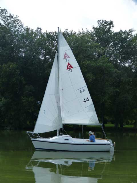 Catalina Capri 16 1990 Syracuse New York Sailboat For Sale From Sailing Texas Yacht For Sale