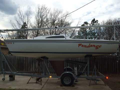 Catalina Capri 22 MK II, 2005 sailboat