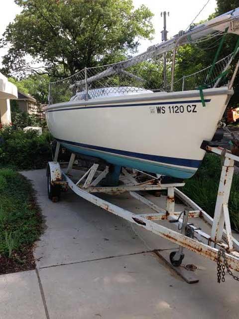 Catalina Capri 22, 1993 sailboat