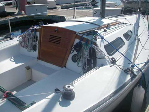 Catalina Capri 25 1984 Tucson Arizona Sailboat For