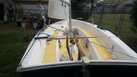 Catalina Capri Omega 14 sailboat & trailer, late 70's, San ...