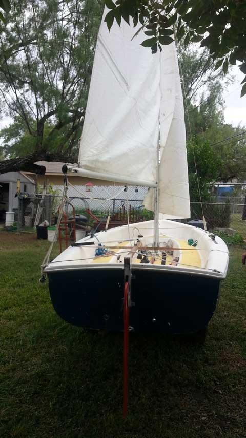 Catalina Capri Omega 14 sailboat