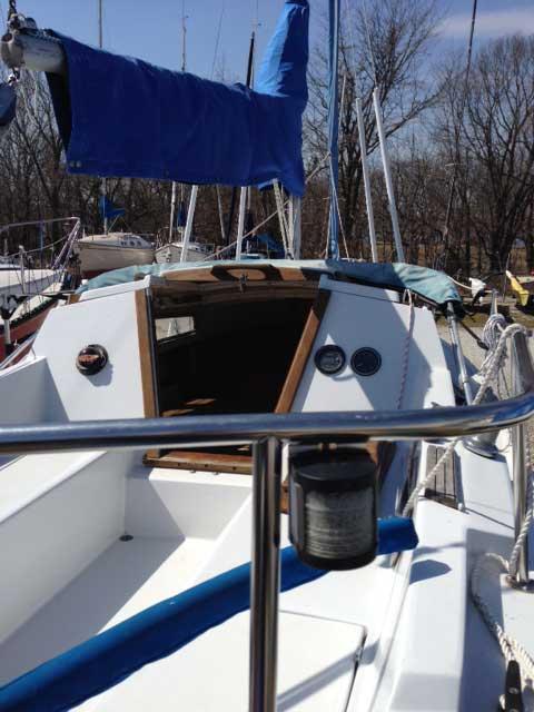 Catalina 22 swing keel, 1983 sailboat