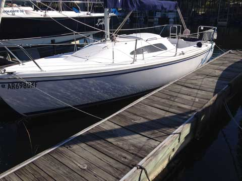 Catalina 22, 2011 sailboat