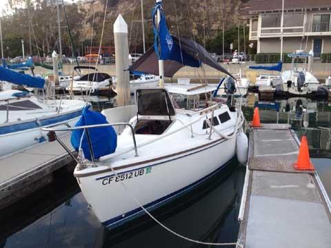 Catalina 22, wing keel, 1989 sailboat