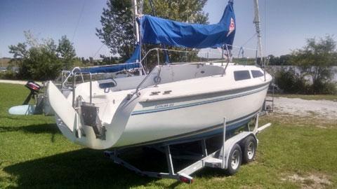 Catalina 250, 1996 sailboat