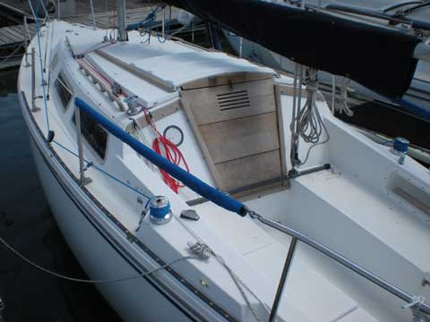 Catalina 22 For Sale >> Catalina 25 swing keel, 1981, Garland, Texas, sailboat for ...