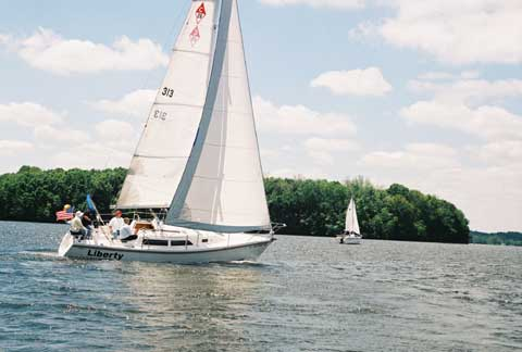 Catalina 28 Mark 1, 1993 sailboat