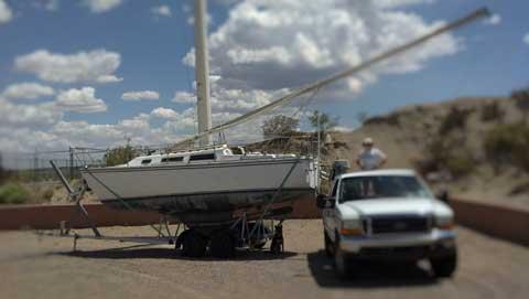 Catalina 30, Tall rig, 1985 sailboat