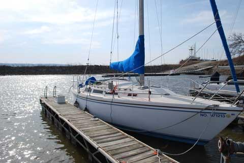 Catalina 30 Mk II, 1986 sailboat