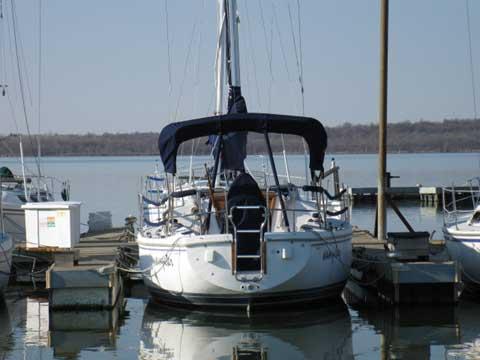 Catalina 30 MKII, 1993 sailboat