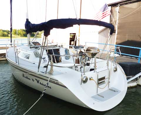Catalina 320 1994 Lake Lewisville Texas Sailboat For