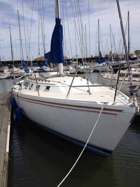 Catalina 34  Mark 1, 1986 sailboat