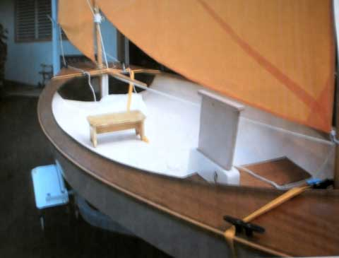 Cat Yawl Sailboat, 2010 sailboat