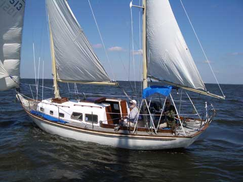 Cheoy Lee ketch, 31 ft., 1968 sailboat