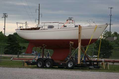 Chris Craft Cherokee 32, 1968 sailboat