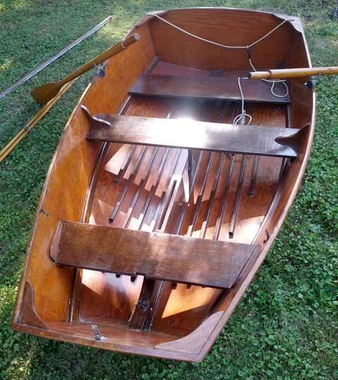 Chriscraft 8 foot sailing dinghy, 1953 sailboat