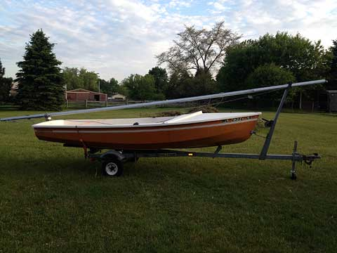 Cl 14 1985 Rockford Michigan Sailboat For Sale From