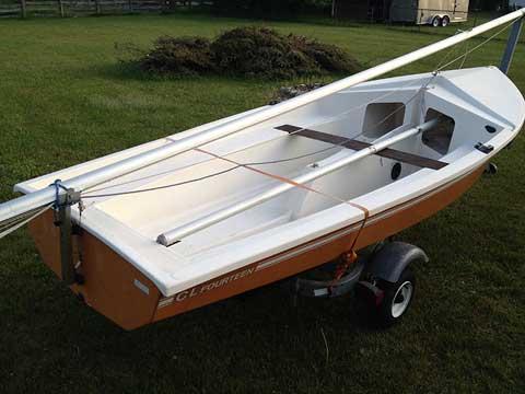 CL 14, 1985 sailboat