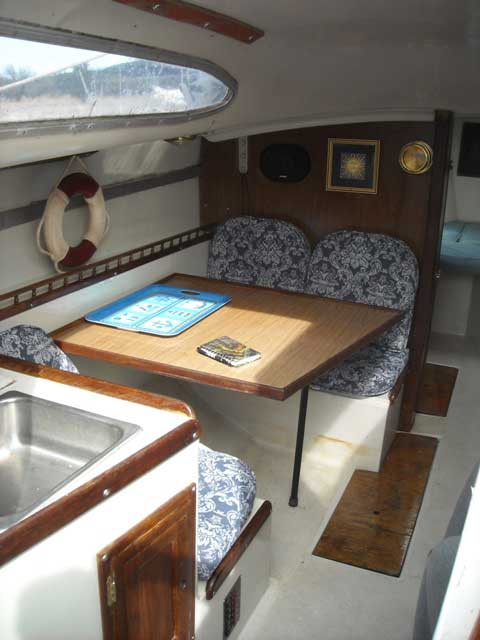 Columbia 26 MKII, 1973 sailboat