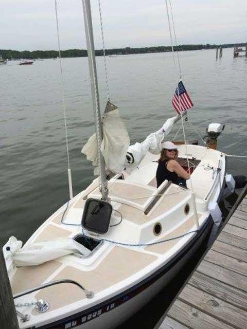 Compac 16 3 1988 Holland Michigan Sailboat For Sale