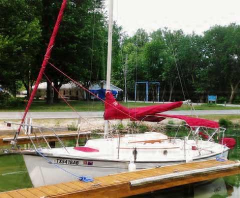 Com-Pac 19 III, 1995 sailboat