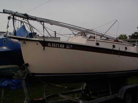 Compac 23/2, 1987 sailboat