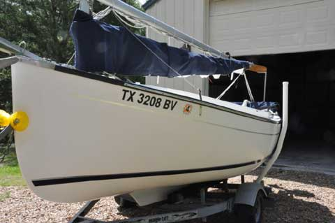 Compac Sun Cat Daysailor Catboat 2007 Blessing Texas - Imagez co